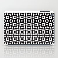 Victorian tile pattern #1 iPad Case