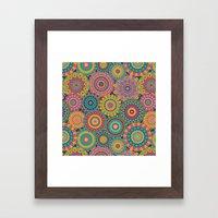 Kaleido-Eden colors Framed Art Print