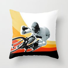 speed demon Throw Pillow