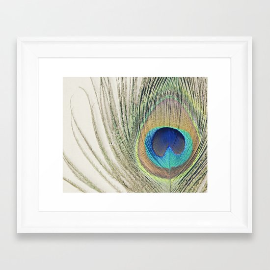 Peacock Feather No.2 Framed Art Print
