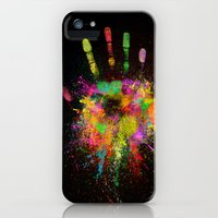 iPhone 5s & iPhone 5 Cases featuring Artist Hand (1) by Adil Siddiqui