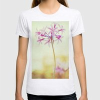 Flower Womens Fitted Tee Ash Grey SMALL