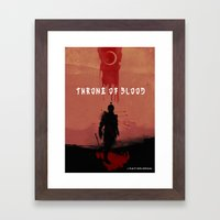 Throne Of Blood Framed Art Print