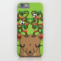 iPhone & iPod Case featuring Love with Cherries on Top by Tratinchica