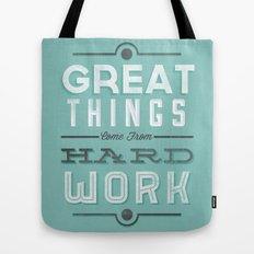 Great Things... Tote Bag