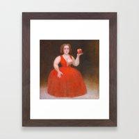 Apples. Framed Art Print