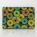 Retro flowers and leaves iPad Case