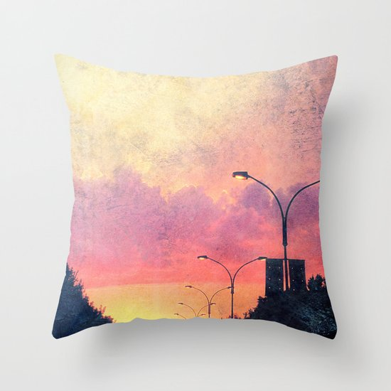 The End of Days. Throw Pillow