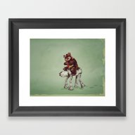 Star Wars Buddies 2 Framed Art Print