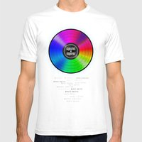 Music Unites Mens Fitted Tee White SMALL
