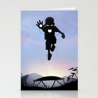 Iron Kid Stationery Cards