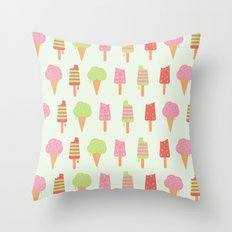 Ice Cream!!!  Throw Pillow