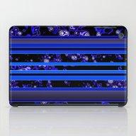 Organic Stripy (ultramar… iPad Case