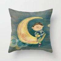 Dreamy Boy Throw Pillow