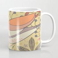 Wild Berry Garden Bird Mug