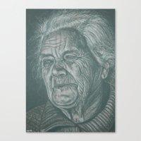 much love grandma! Canvas Print