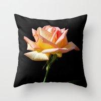 Rose Of St. James Throw Pillow