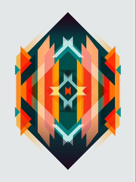 Broken Diamond - Incalescence Canvas Print