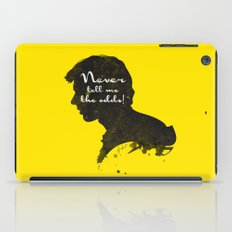 The Odds – Han Solo Silhouette Quote iPad Case