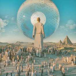 Art Print - GIANT PERSON (everyday 10.27.16) - beeple
