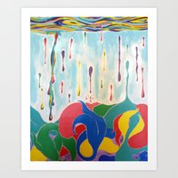 Plenty Of Sea In The Fish Art Print