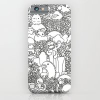 Oodles of Doodles of Singapore (White) iPhone 6 Slim Case