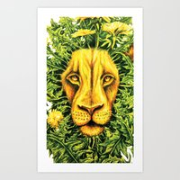 Dandylion ZOOM Art Print