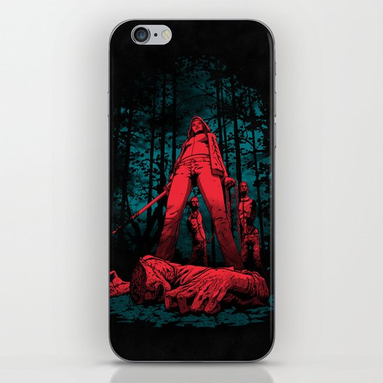 Huntress iPhone & iPod Skin