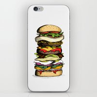 Now THIS is a burger. iPhone & iPod Skin