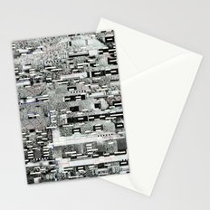 Highly Resolved Ghost (P/D3 Glitch Collage Studies) Stationery Cards