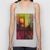 And The Night Comes Unisex Tank Top