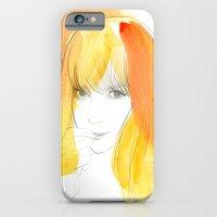 iPhone & iPod Case featuring Tasuku by mekel