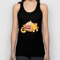 Ice sandwich cat Unisex Tank Top
