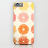 iPhone & iPod Case featuring Geometric Flowers by Studio Samantha