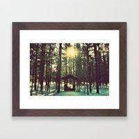 Until the Sun Doesn't Shine Framed Art Print