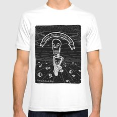 ¨Atada¨ SMALL White Mens Fitted Tee