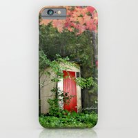 The Red Outhouse Door iPhone 6 Slim Case
