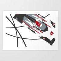 E-tron Art Print