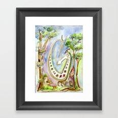 Springbock Framed Art Print