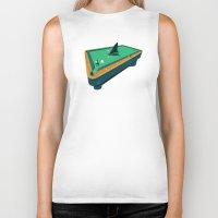 Pool shark Biker Tank