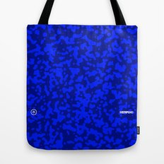 Comp  Camouflage / Blue Tote Bag
