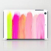 Brush Strokes iPad Case