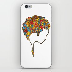 Musical Mind iPhone & iPod Skin