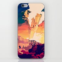 Destroyed iPhone & iPod Skin