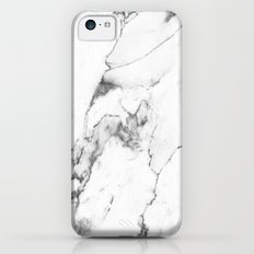 White Marble I iPhone 5c Slim Case