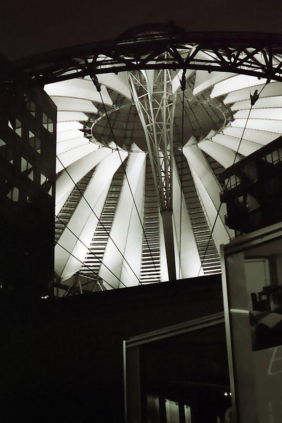 Glass Tent Potsdamer Platz Art Print