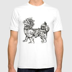 The guardian White Mens Fitted Tee SMALL