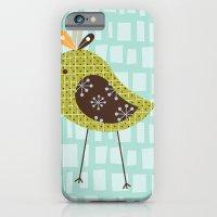 iPhone & iPod Case featuring Green Tweetie Bird by shiny orange dreams