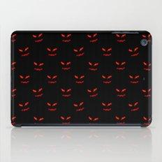 Scary Faces Creepy Nights iPad Case