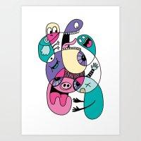 Piggly Wiggly Art Print